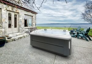 J-385 Jacuzzi Hot Tub Installation in New York