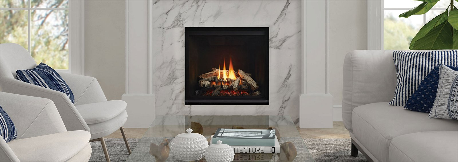 Regency Fireplaces and home heating solutions for sale at Ace Swim and Leisure in New York